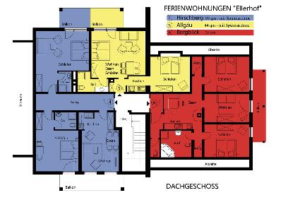 Ferienwohnungen Ellerhof Dachgeschoss